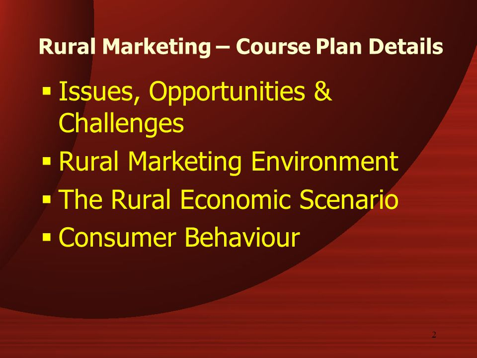 Rural Marketing - Promotion Strategies