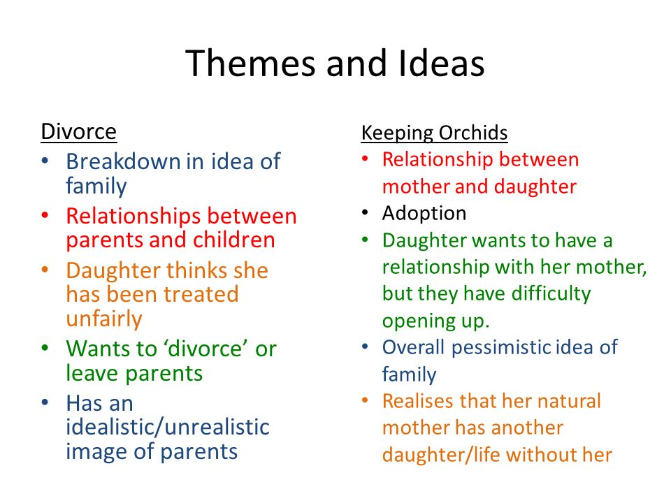 Study of relationships between adult children and parents