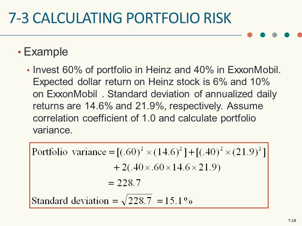annualised risk and return How to annualize monthly returns – example  let's look at how you can annualize your monthly returns  annualized return = 01223 or 1223%.