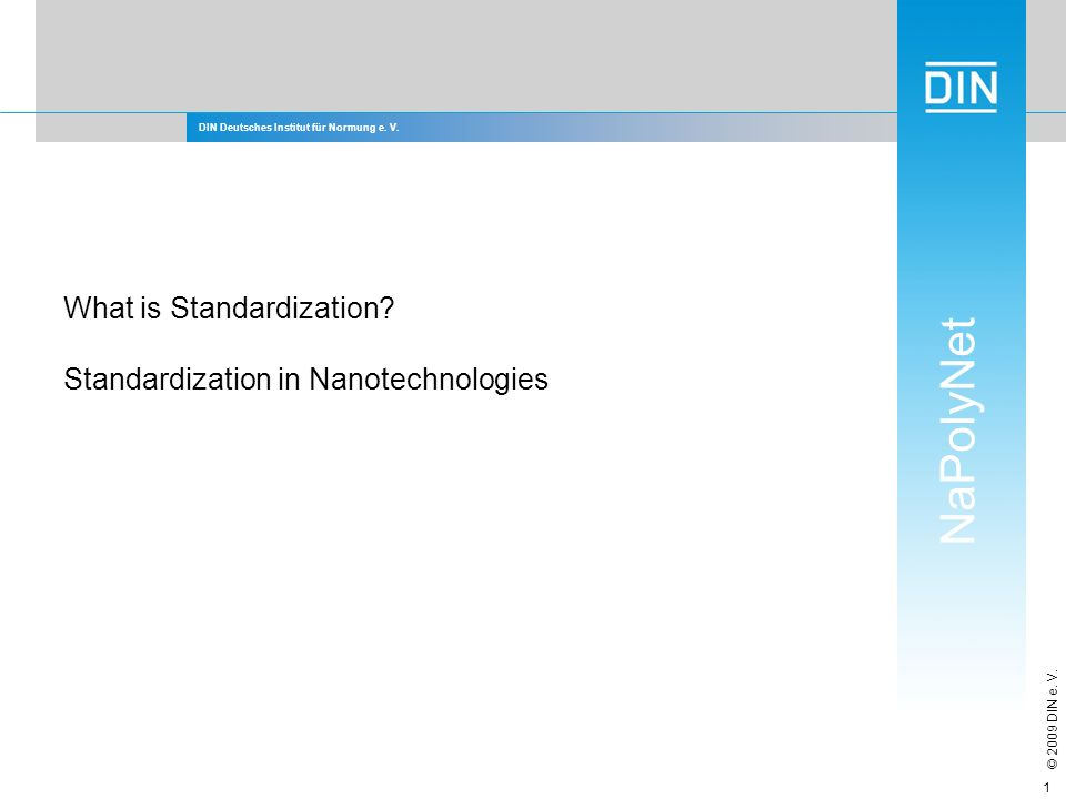 What is Standardization