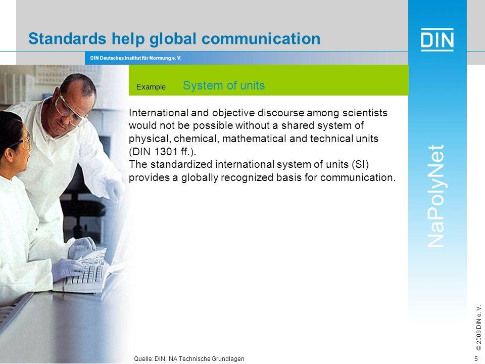 Standards help global communication