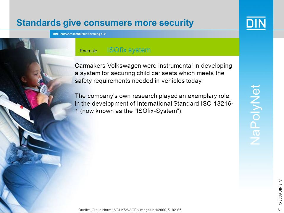 Standards give consumers more security