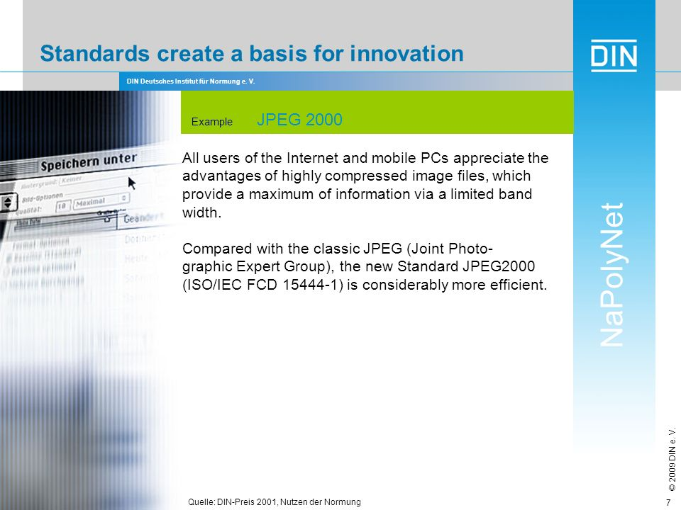 Standards create a basis for innovation