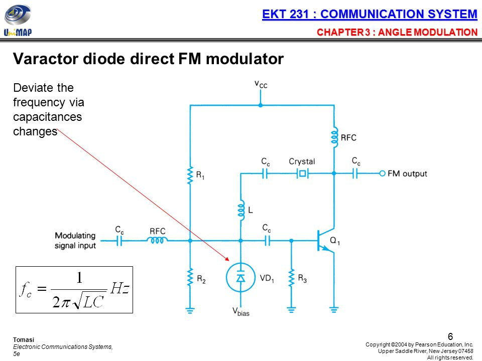 varactor diode modulator - 28 images - frequency modulator ...