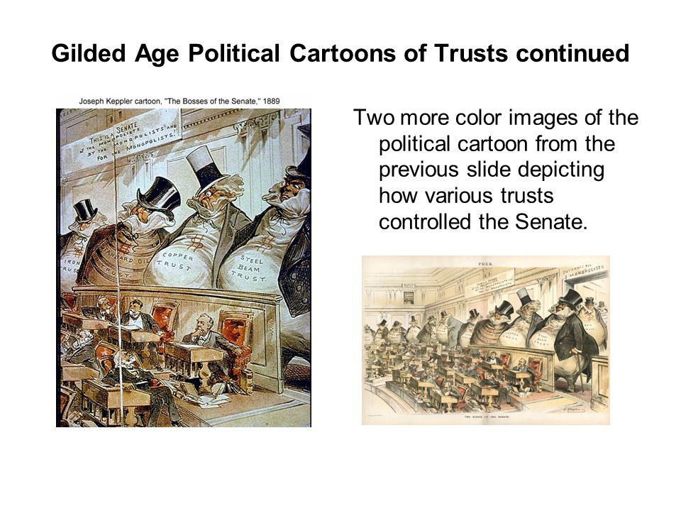 Gilded Age Political Cartoons Continued Ppt Download