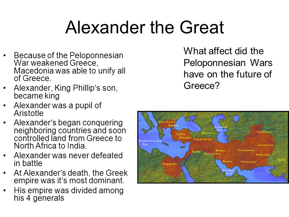 "what impact did the peloponnesian war have on the greek The peloponnesian war (431–404 bc) was an ancient greek war fought by athens against the peloponnesian led by sparta thucydides famously claims that the war started ""because the spartans were afraid of further growth of athenian power, seeing as they did have the greater part of hellas was under the control of."