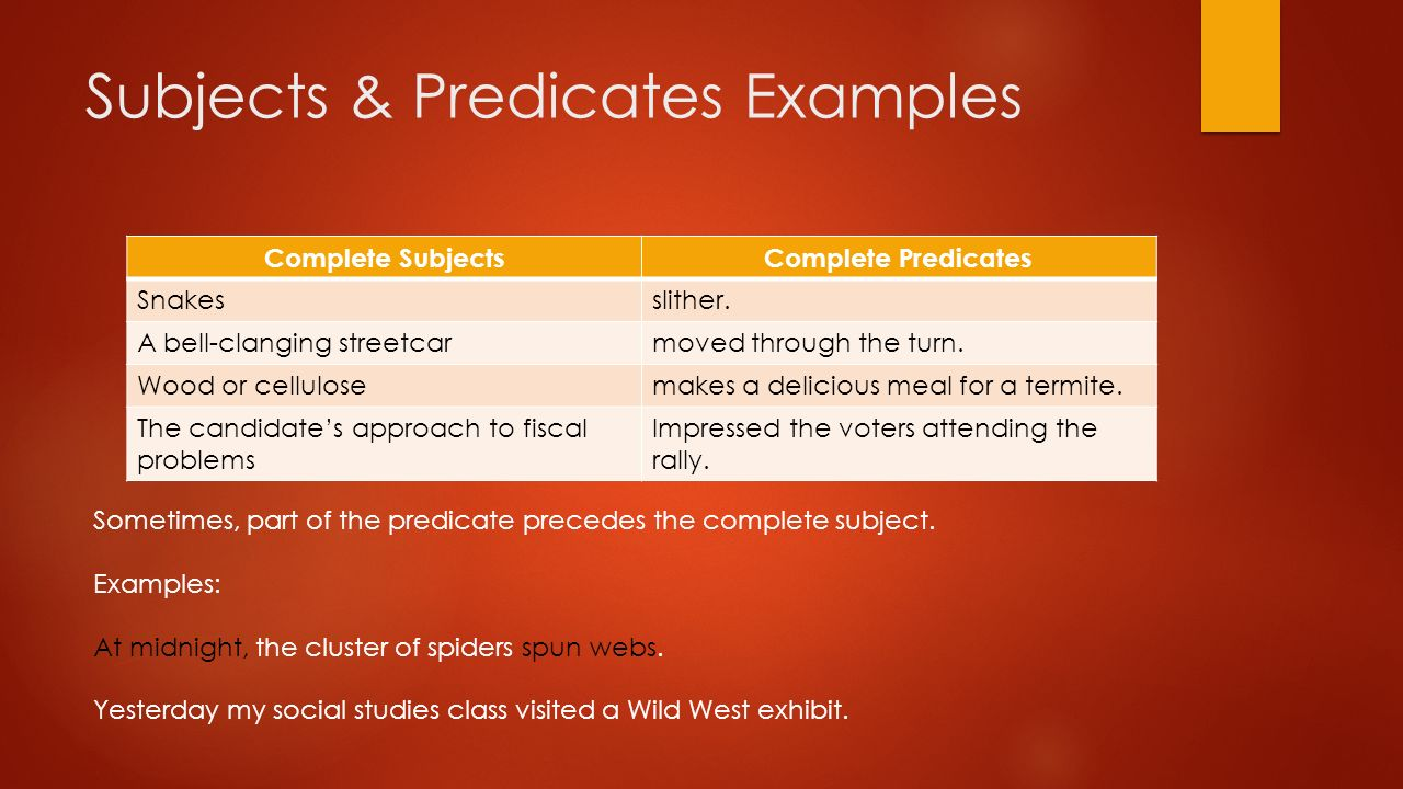 simple subject and simple predicate pdf