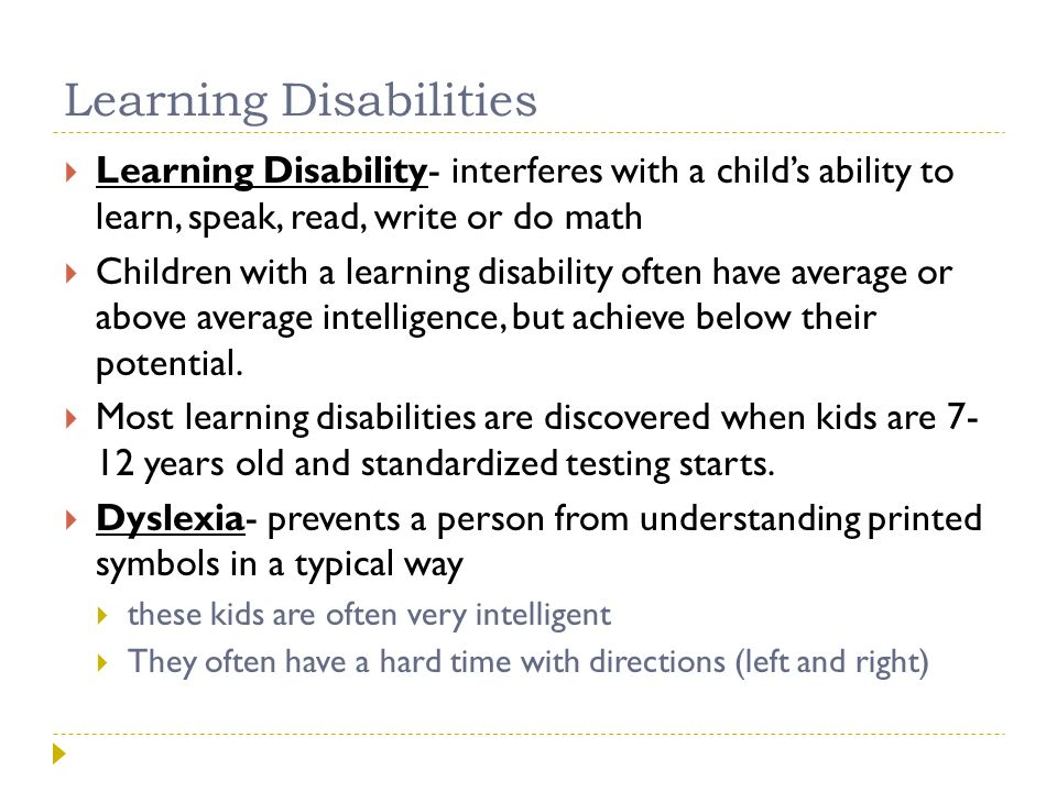Recognizing Learning Disabilities in Teens