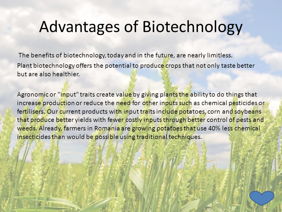 advantages and disadvantages of biotechnology pdf