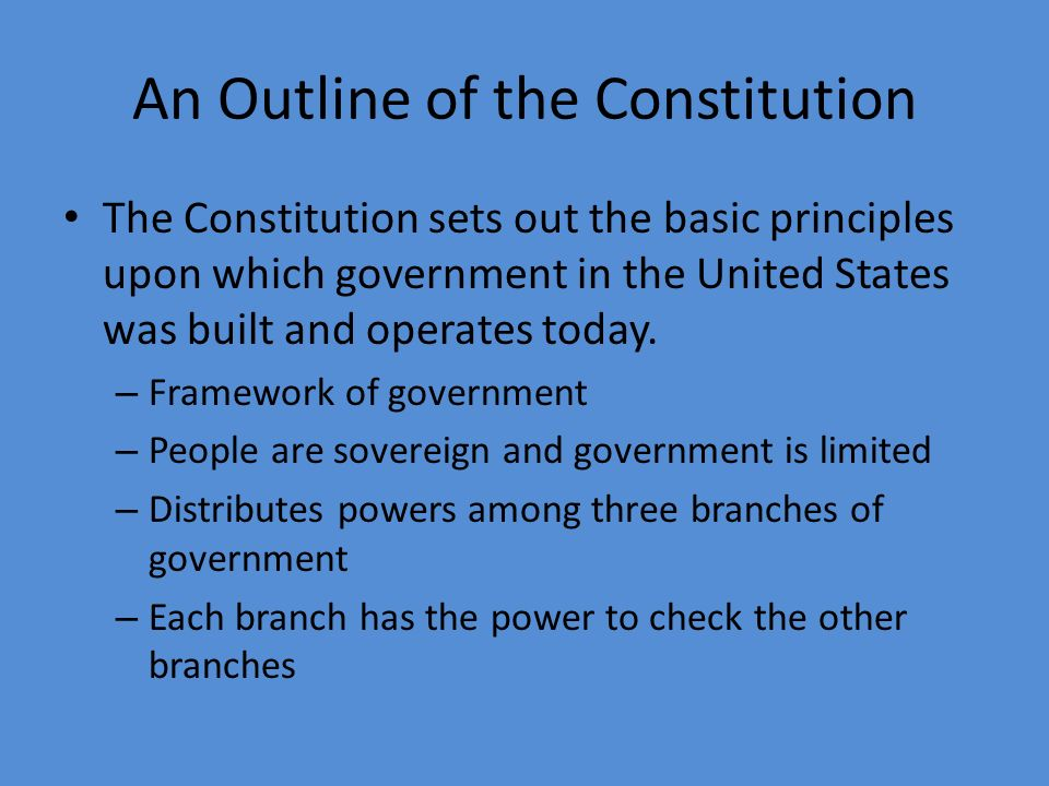 an analysis of the essential principles of federalism in the united states government Politics in the usa  united states – politics and government i title  federalism the united states is a federal system of government,.