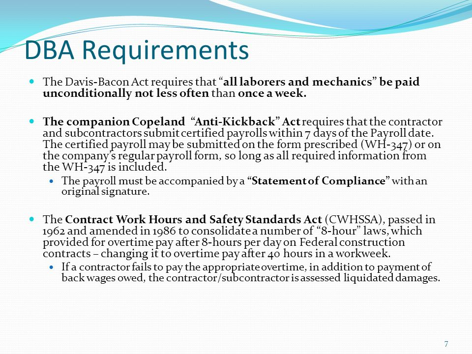 Labor Standards 101 Office Of The Assistant General Counsel - Ppt