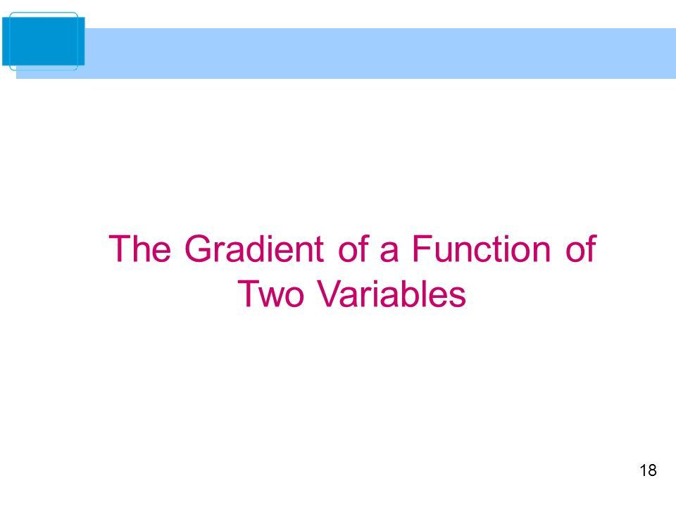 how to find gradient of a function