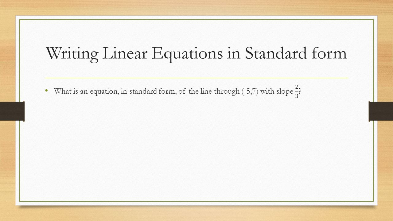 Coordinate System and Graphing Lines including Inequalities