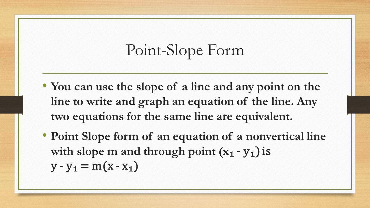 3 3 slope intercept form ppt video online download 7 point slope form falaconquin