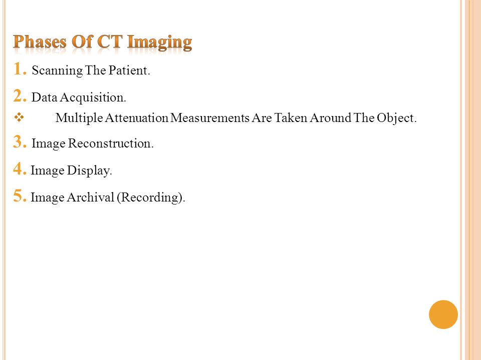 Ct Data Acquisition System : Computed tomography i rad ct scan ppt video