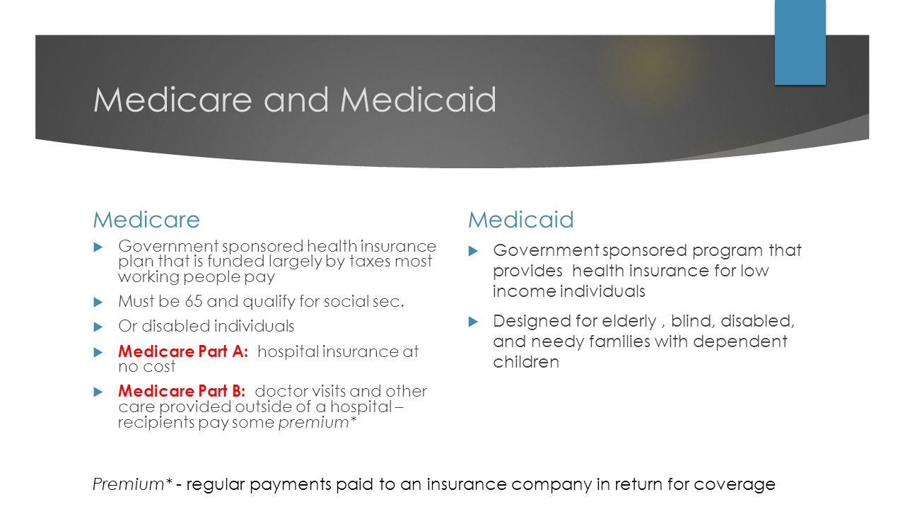 Medicare And Medicaid Medicare Medicaid Summaryparison Of Peer Counties Medicare  Benefits