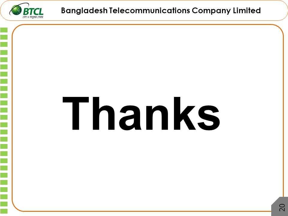 telecommunication of bangladesh Executive summary: this term paper is prepared over the telecommunication sector of bangladesh in this term paper we discuss about all the companies that are.