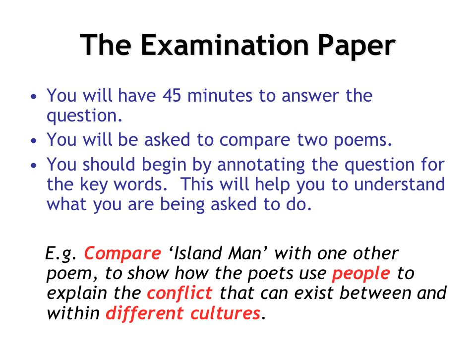 essay on comparing poems from different cultures Read comparing poems from different cultures free essay and over 88,000 other research documents comparing poems from different cultures comparing poems i am going to be talking about their methods that the poets use to.