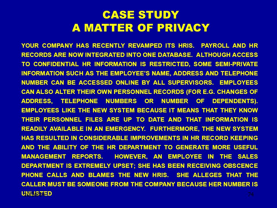 HUMAN RESOURCE MANAGEMENT Answer CASE STUDY - …