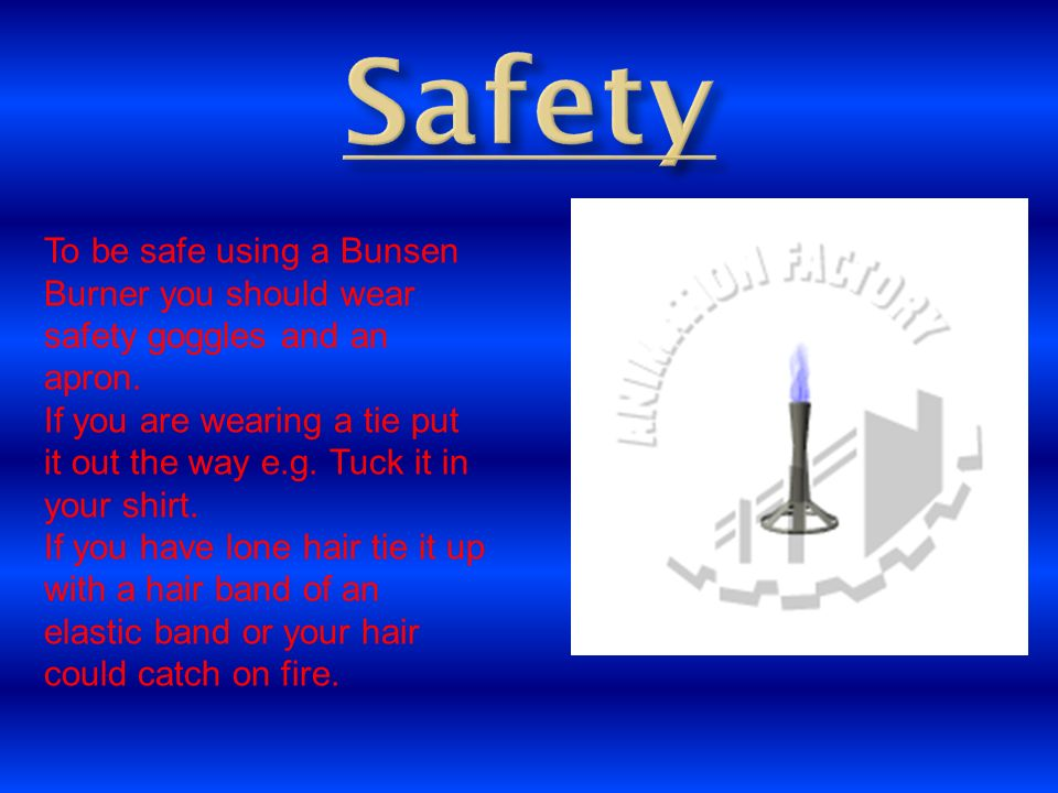 How To Use A Bunsen Burner Ppt Download