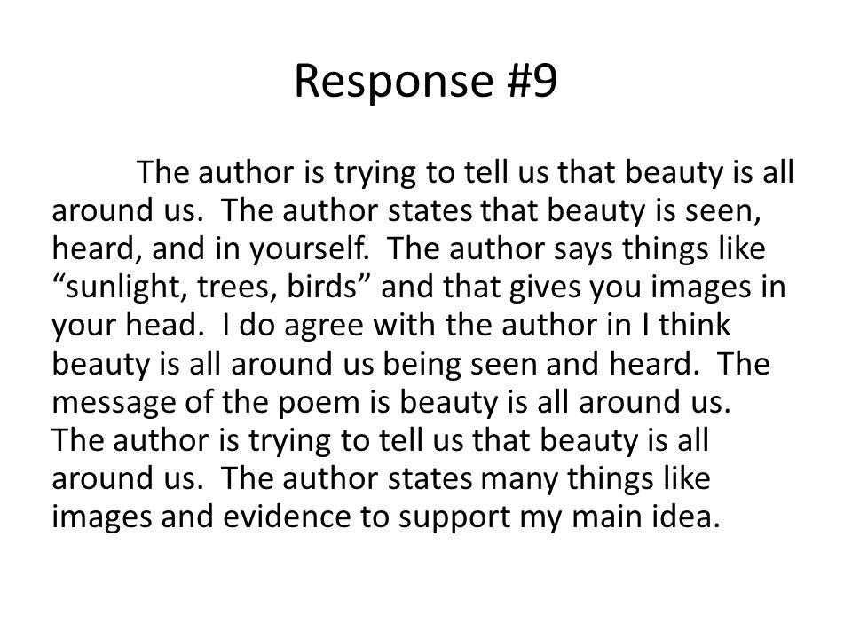 Response #9