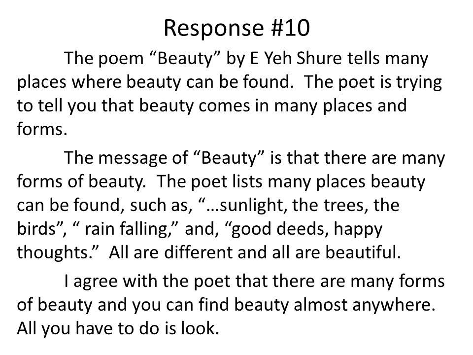 Response #10