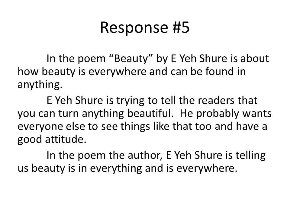 Response #5
