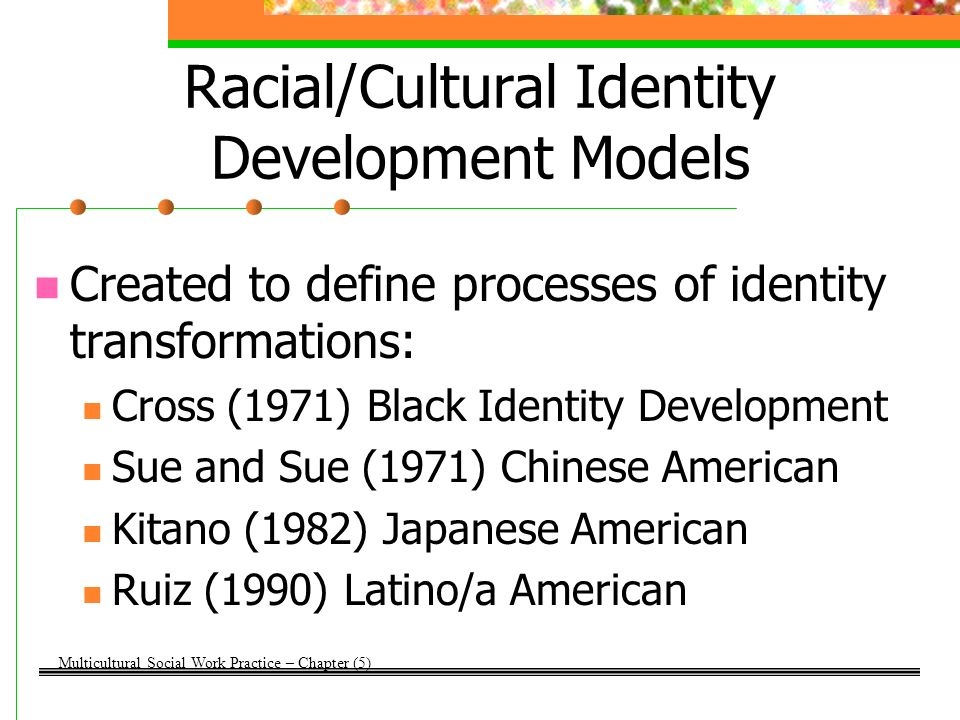 ethnic identity and african americans 2 essay Racial and ethnic identity study on the importance of race and ethnicity conceptual and methodological challenges in understanding african american identity.