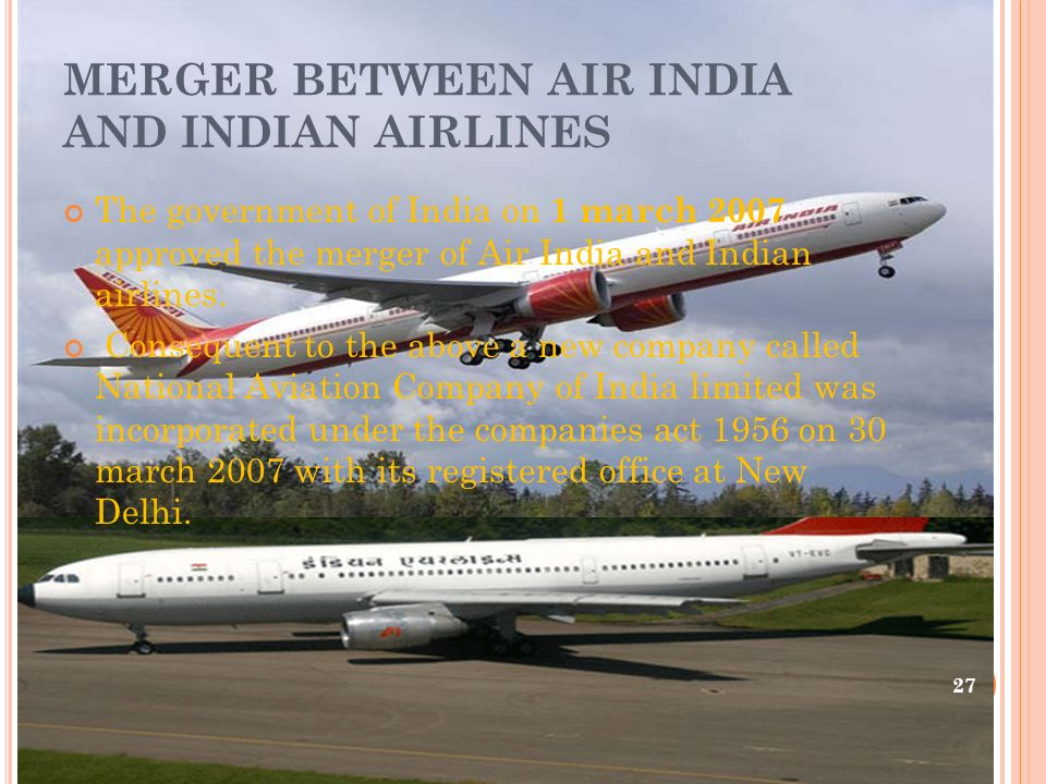 amalgamation of air india limited and Inc2013 www4dinternationaljournalcom 4dijitc-volume3,issue-3- july-2014  post merger financial analysis- air india & indian airlines by ashok k sinha.