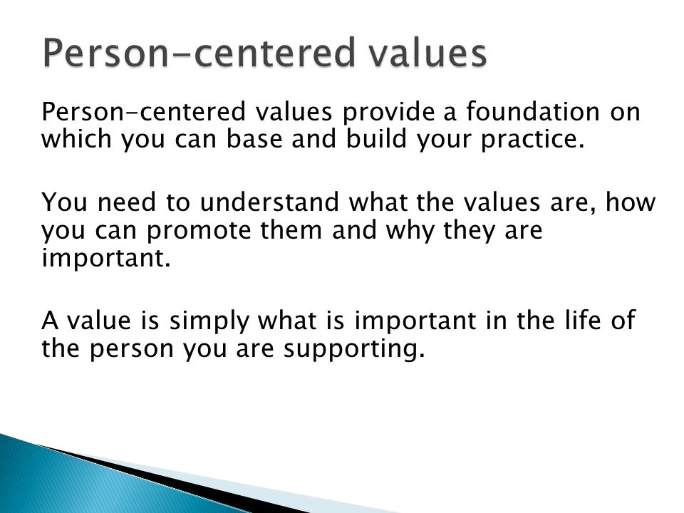 Understand Person Centred Approaches 2
