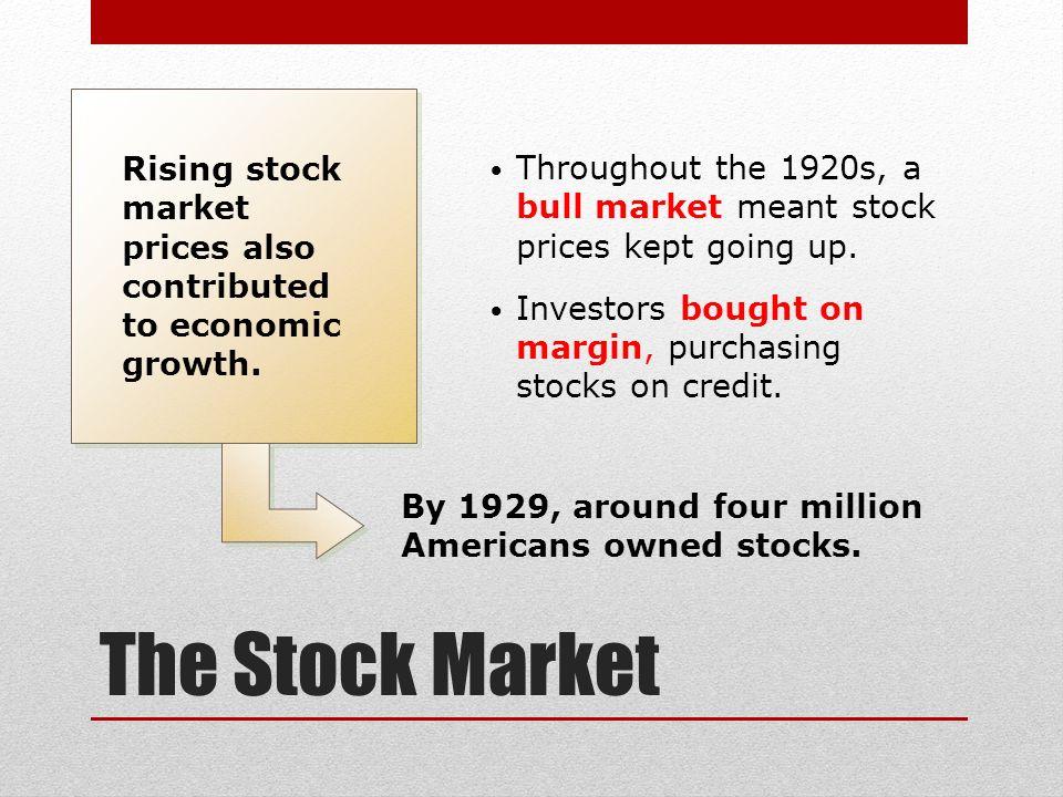 The Economic Boom. - ppt download