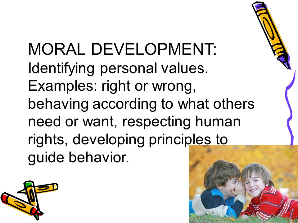 the development of personal values Self awareness and values development, with stephan thieringer –  we are  required to make choices, both personal and professional,.