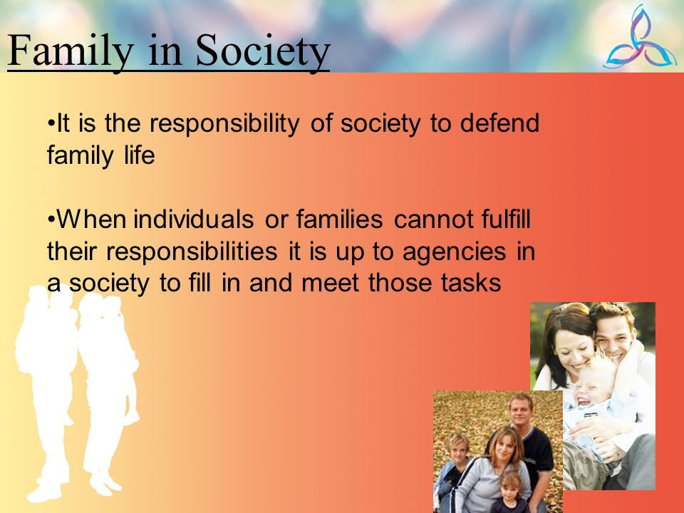 "an individuals responsibility to society The relief society and individual responsibility ""chapter 19: the relief society and individual responsibility,"" teachings of presidents of the church: brigham young (1997), 131–36 the female relief society of nauvoo, organized by the prophet joseph smith, was an important means of helping the poor and strengthening the sisters in nauvoo."