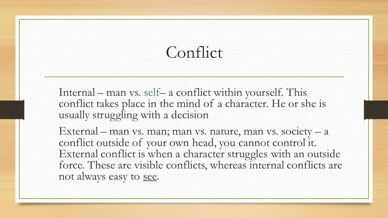conflict within the mind Conflict and differences in views are inevitable part of working together with  others, but with the right skills, it can become an opportunity for learning and.