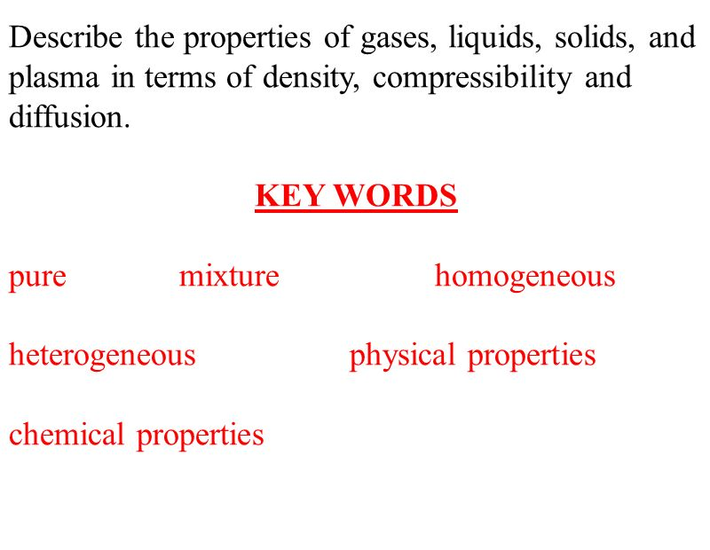 compressibility chemistry. 2 describe compressibility chemistry