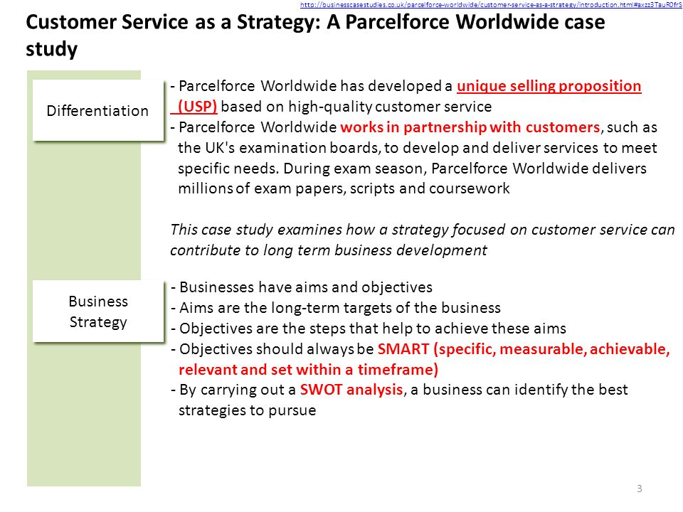 swot parcelforce worldwide Swot analysis 132-133 (c) analysis of the financial statements of last five years 133-134 (d) known trends demands, commitments, events or uncertainties the industry is making strides in terms of environmental compliance to have a sustainable footing in the global parcel force worldwide.