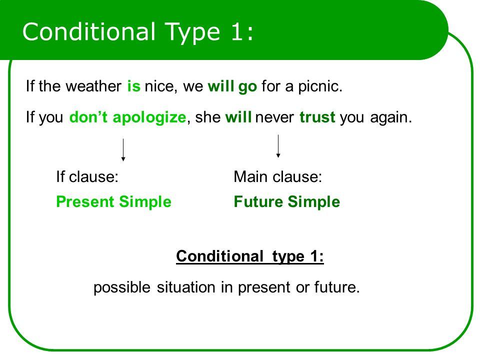 conditional type 1 2 3 pdf