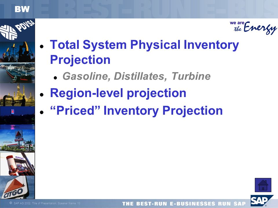 Total System Physical Inventory Projection
