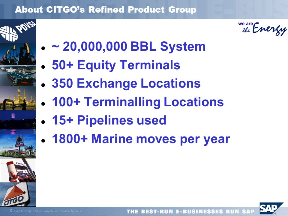 About CITGO's Refined Product Group