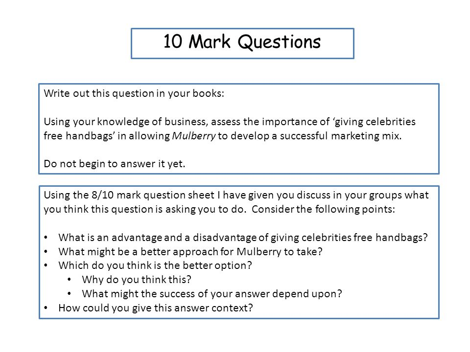 how to write answer what do you think wiki