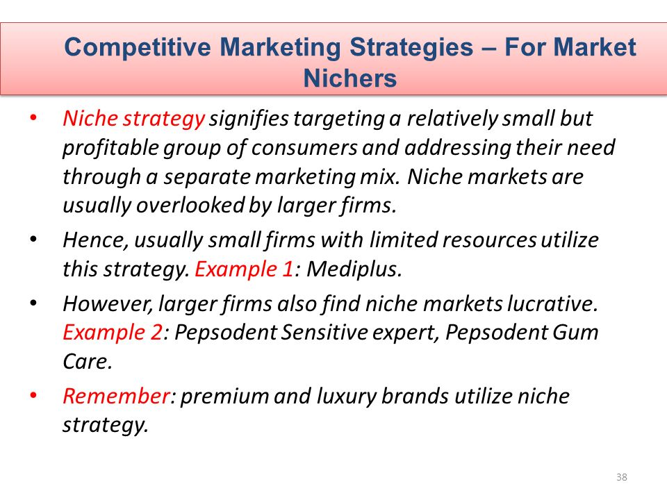 CHAPTER 09 Competitor Analysis and Competitor Marketing Strategy ...