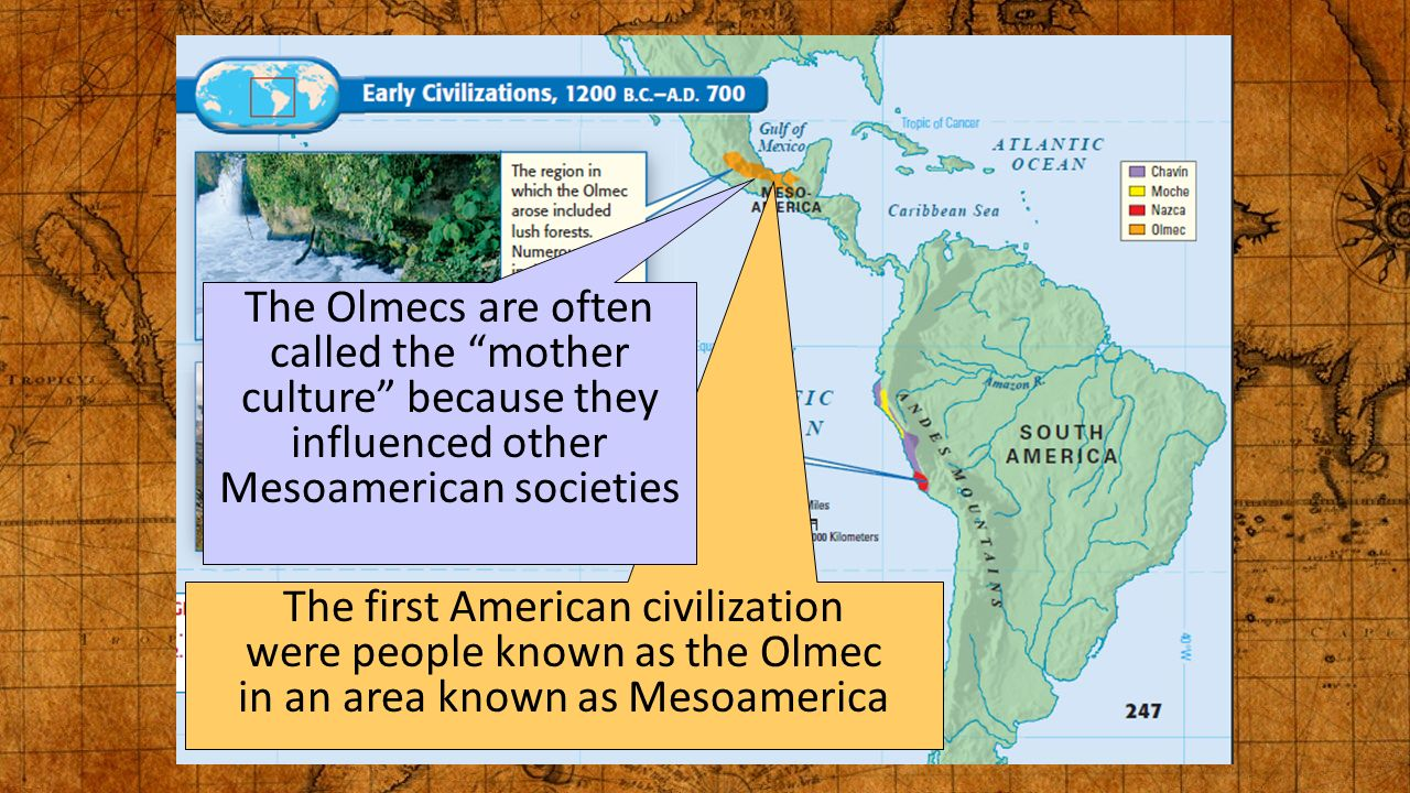 The mysterious civilization of the Olmecs