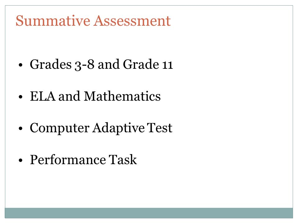 Interpreting Smarter Balanced Summative Assessment Results  Ppt