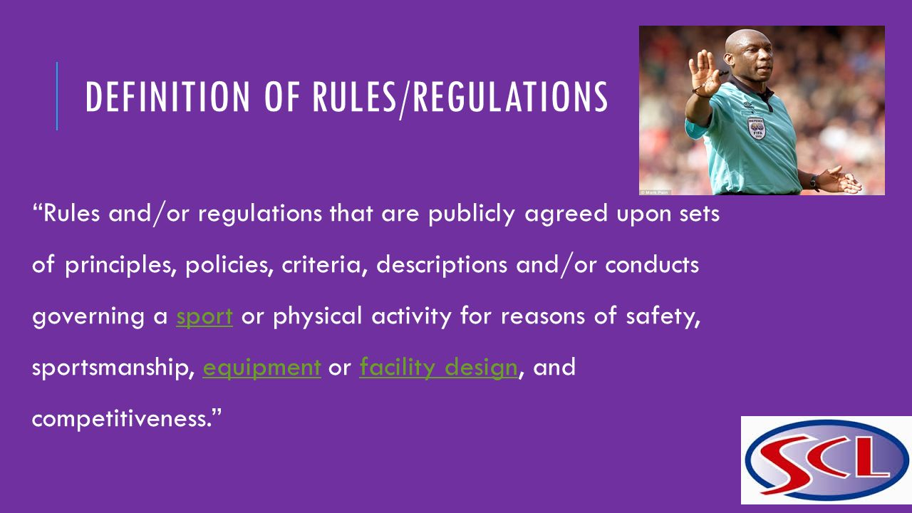 Definitions – Policies, Regulations & Rules