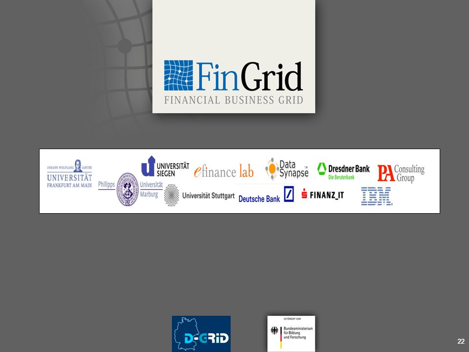 Financial Business Grid