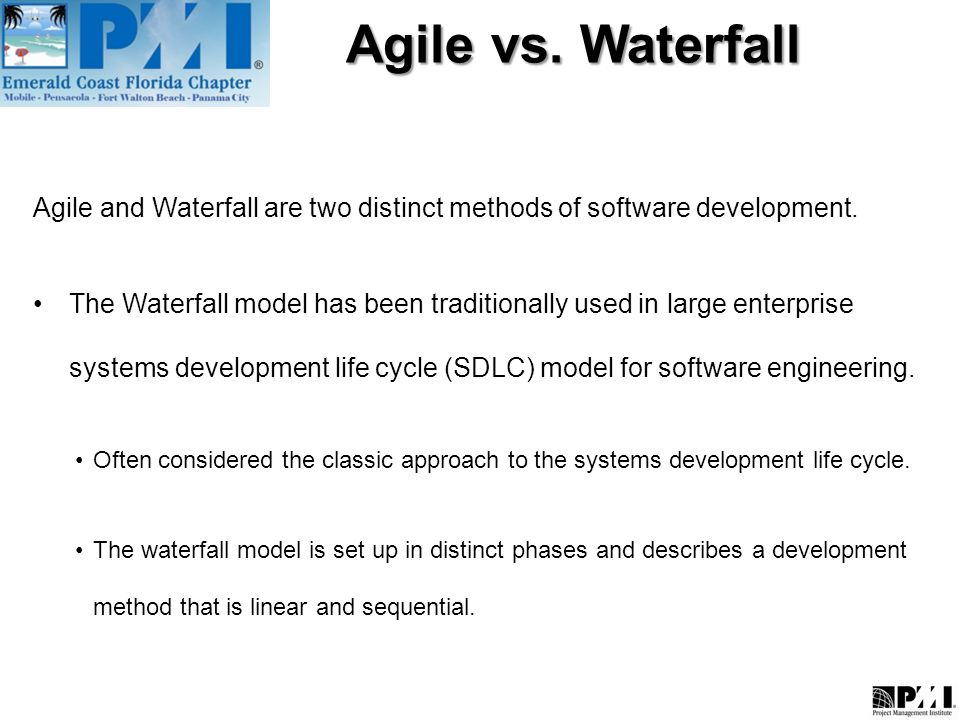 Agile Vs Waterfall What Is Agile Methodology Ppt Video