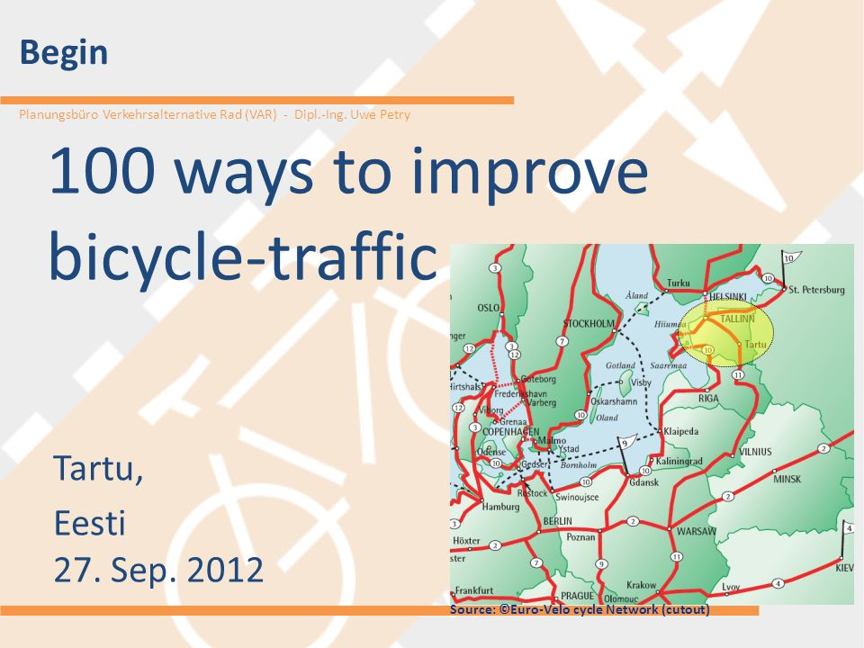 100 ways to improve bicycle-traffic