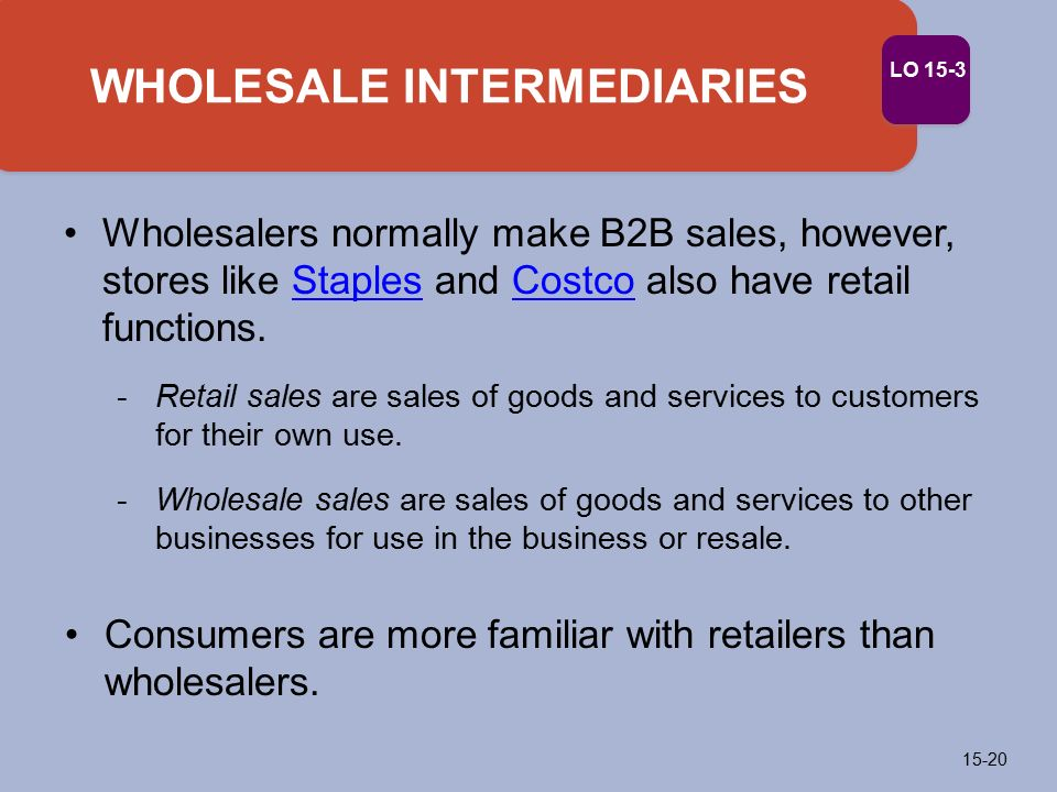 what are the distribution functions performed by wholesalers and retailers Youtube/downtown84 when most people talk about distribution, they   therefore, distributors perform a warehousing function where they.