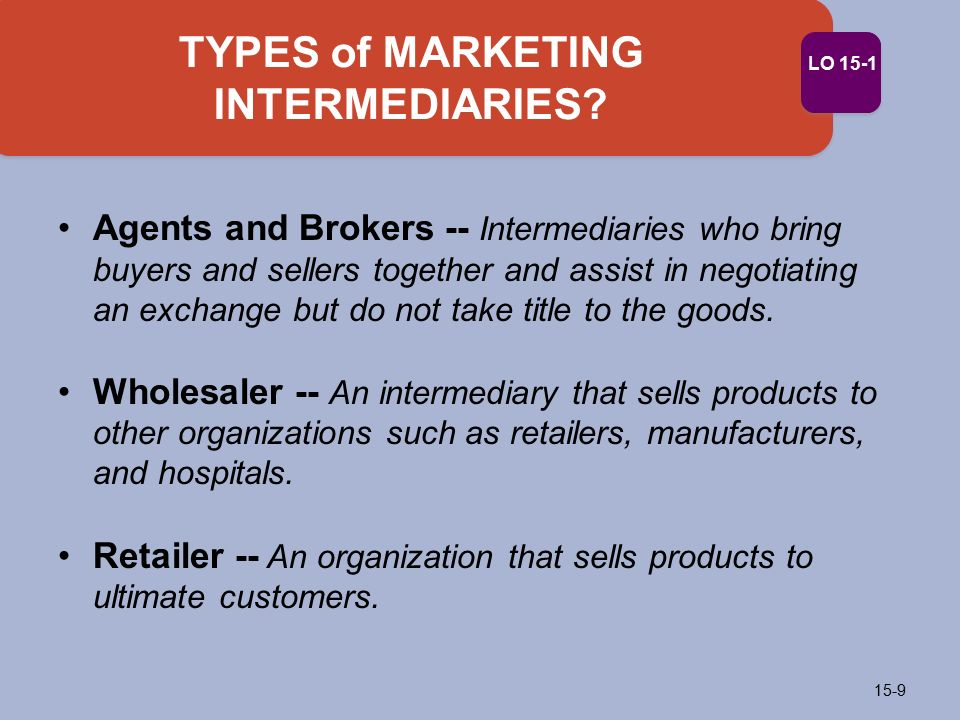 Marketing Intermediaries Definition | Marketing Dictionary