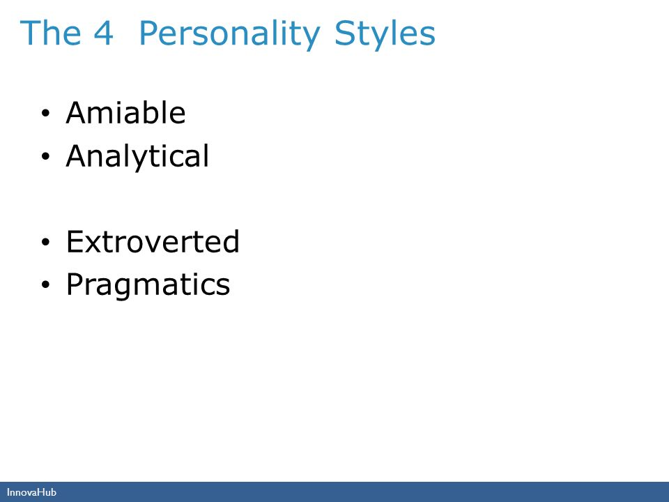 The 4 Personality Styles